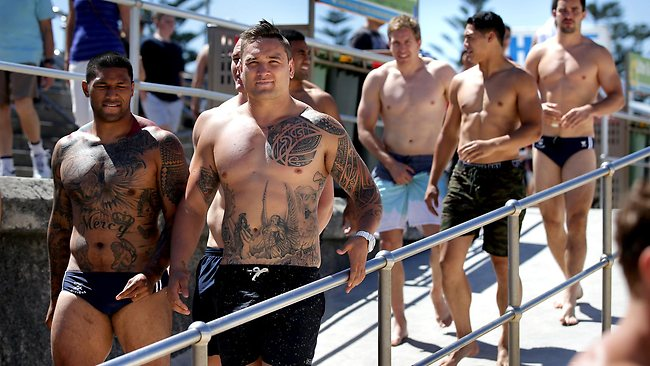 The Roosters boys need to spend more time on the training paddock than in cafes or speedos