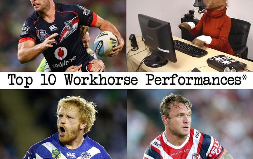 Top 10 Workhorse Performances 2016